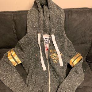 Superdry zip up hoodie brand new